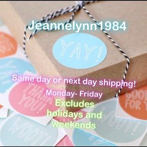 Other - Same day or next day shipping!